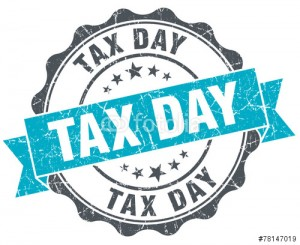 Taxes Due April 18, 2016